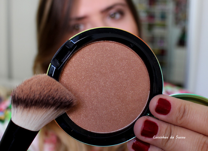 Mac Wash and dry bronzing powder - Coisinhas da sussu