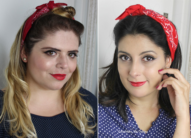 Make carnaval Pin up - Coisinhas da Sussu