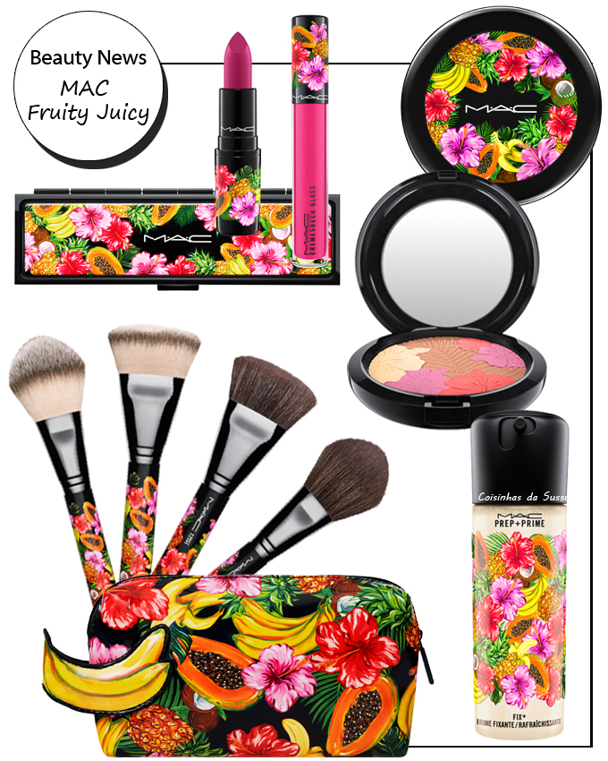 Mac Fruity Juicy - Coisinhas da Sussu